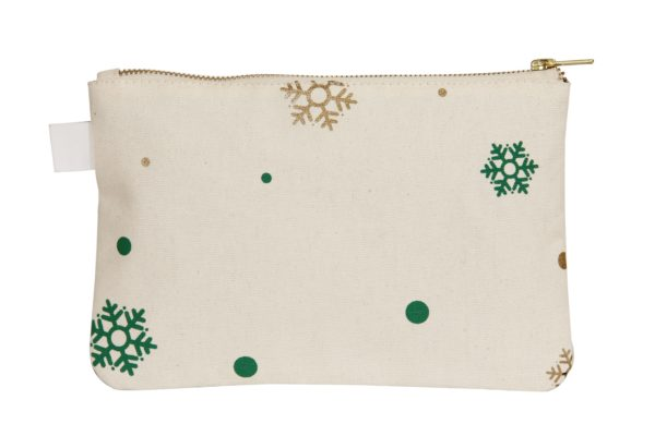 Christmas Cosmetic Pouch_EcoRight_Back_Green
