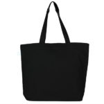 Civilizations Fade Black Canvas Large Tote Bag | EcoRight Bags 2
