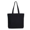 Cyenfin–Black-Canvas Large Tote Bag | EcoRight Bags 4