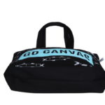 Go Canvas Black Canvas Large Tote Bag | EcoRight Bags 3