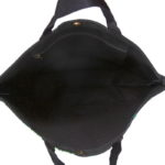 Go Canvas Black Canvas Large Tote Bag | EcoRight Bags 4