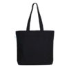 Magical Powers Black Canvas Large Tote Bag | EcoRight Bags 4