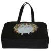 Porcupine Hug Black Canvas Large Tote Bag | EcoRight Bags 2