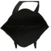 Porcupine Hug Black Canvas Large Tote Bag | EcoRight Bags 4