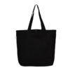 Save Our Seas Black Canvas Large Tote Bag | EcoRight Bags 2