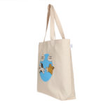 What's for dinner – Natural - Canvas Large Tote Bag | EcoRight Bags 1