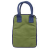 Canvas Lunch Tote Bag Dark Green | EcoRight Bags 3