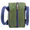 Canvas Lunch Tote Bag Dark Green | EcoRight Bags 4