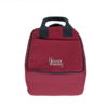 Canvas Lunch Tote Bag Maroon | EcoRight Bags 1