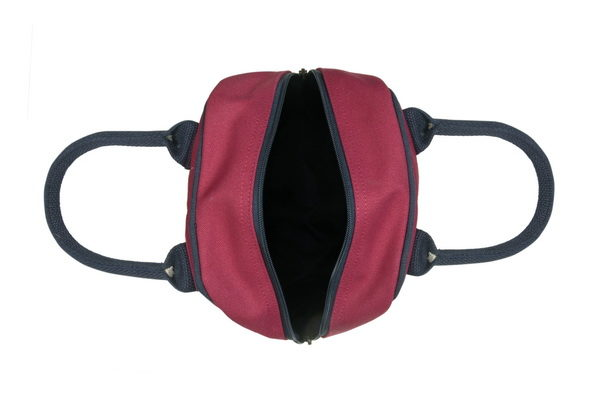 Canvas Lunch Tote Bag Maroon | EcoRight Bags 4