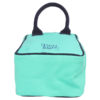 Canvas Lunch Tote Bag Turquoise | EcoRight Bags 2
