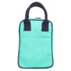 Canvas Lunch Tote Bag Turquoise | EcoRight Bags 3