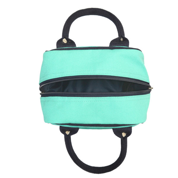 Canvas Lunch Tote Bag Turquoise | EcoRight Bags 5