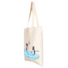 Confused Penguins Natural Cotton Tote Bag | EcoRight Bags 1