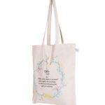 Cotton Tote Bag, Cyenfin , Natural | EcoRights Bags 4