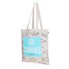 Go Canvas Natural Cotton Tote Bag | EcoRight Bags 1