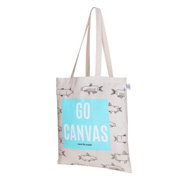 281d1e719 Go Canvas Natural Cotton Tote Bag | EcoRight Bags 1