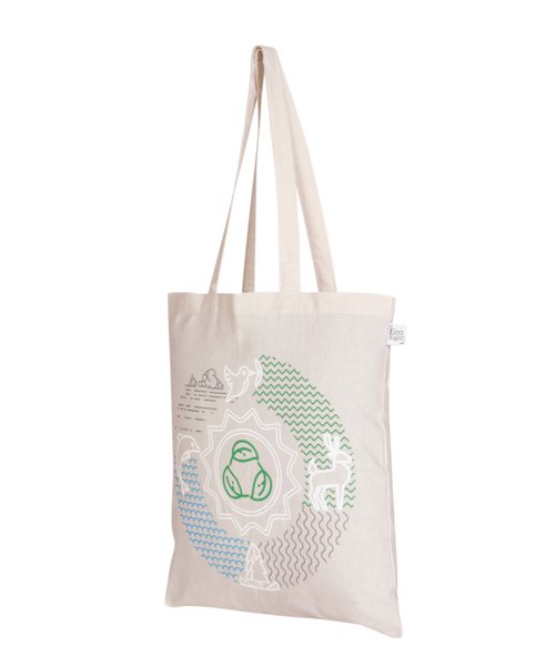 Lifecycle Natural Cotton Tote Bag | EcoRight Bags 1
