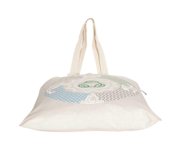 Lifecycle Natural Cotton Tote Bag | EcoRight Bags 2