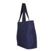 Juton Large Zipper Tote Bag Blue | EcoRight Bags 1