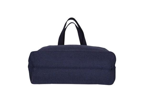 Juton Large Zipper Tote Bag Blue | EcoRight Bags 2