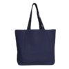 Juton Large Zipper Tote Bag Blue | EcoRight Bags 3