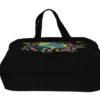 Happy Planet Black Juton Large Zipper Tote Bag | EcoRight Bags 3