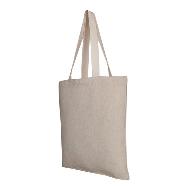 Recycled Cotton Tote Bag, – Natural_EcoRightbags_2