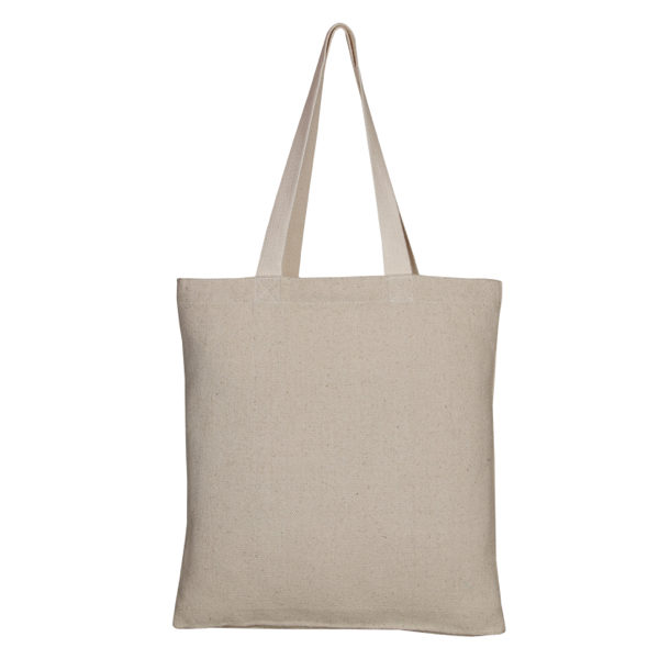 Recycled Cotton Tote Bag, – Natural_EcoRightbags_4