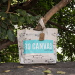 Canvas Large Tote Bag-0201I01-LS-2