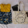 Canvas Large Tote Bag- 0201A03-Life Style-1