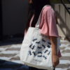 Canvas Large Tote Bag-0201B02-LS-1