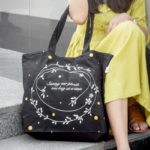 Canvas Large Tote Bag-0202A03-LS-1