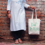 Canvas Gusset Tote Bag-0301O02-BW