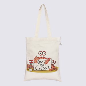 Canvas Zipper tote bag-0601F04-1