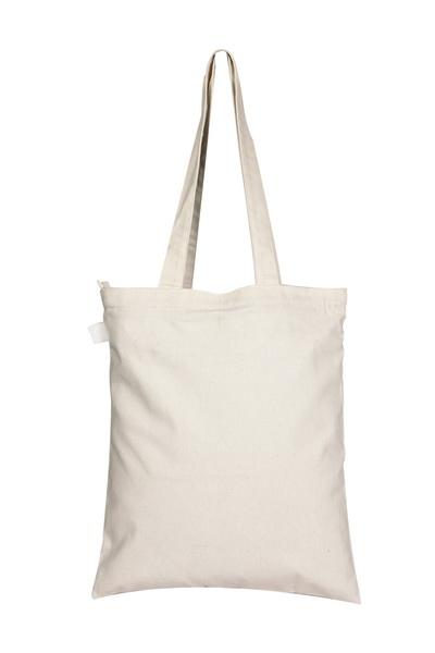 Canvas Zipper Tote Bag-0601F04-Back