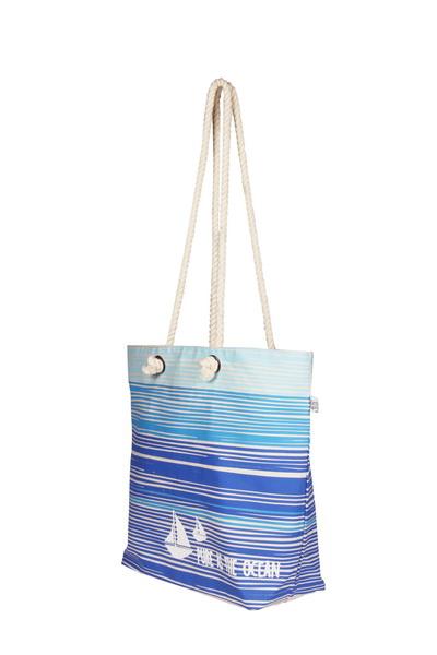 Canvas Beach Bag-1701A11-Side