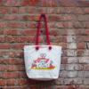 Canvas Beach Bag-1701F04-BW