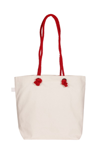 Canvas Beach Bag-1701F04-Back