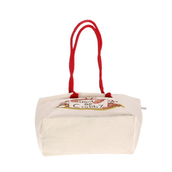 Canvas Beach Bag-1701F04-Bottom