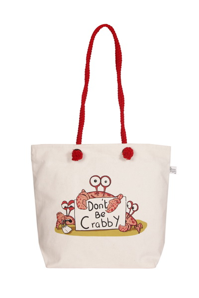 Canvas Beach Bag-1701F04-Front