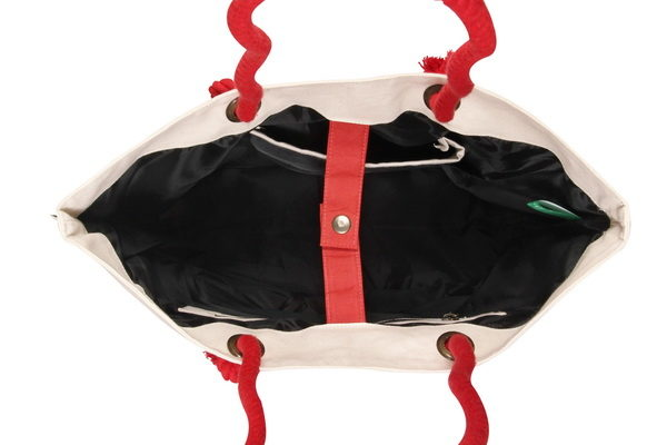 Canvas Beach Bag-1701F04-Open-2