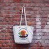 Canvas Beach Bag-1701H05-BW
