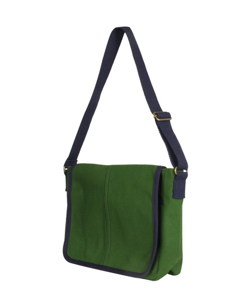 Canvas Messenger Bag-2006-Side