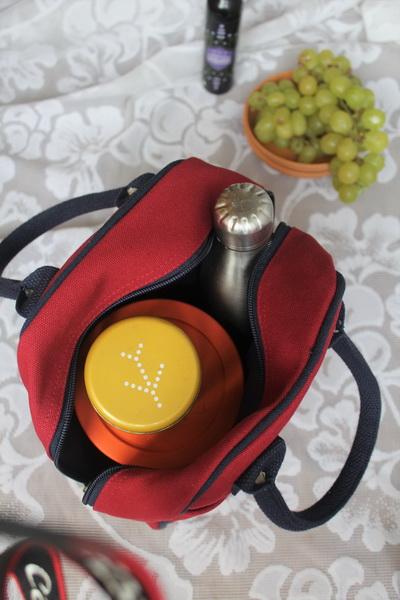 EcoRight Lunch bag Maroon-3