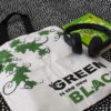 EcoRight Premium Zipper Tote -Green is black