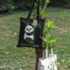 EcoRight Premium Zipper Tote -Panda