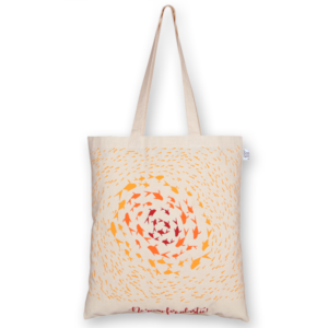 Cotton Tote Bag, No Room For Plastic – Natural_EcoRightBags_1