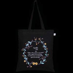 CottonTote Bag,CyenfinBlack_EcoRightBags_1