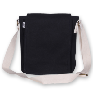 Canvas Cross Body Bag - Blue
